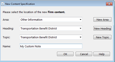classify your content when you add it for easy retrieval