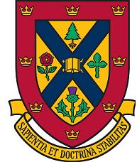University of Queens Crest 180 x 228 left margin